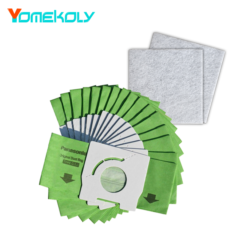For Panasonic Dust Filter Paper <font><b>Bags</b></font> Type C-13 <font><b>MC</b></font>-291 <font><b>MC</b></font>-CG321 vacuum cleaner Dust <font><b>Bags</b></font> accessories replacements parts image