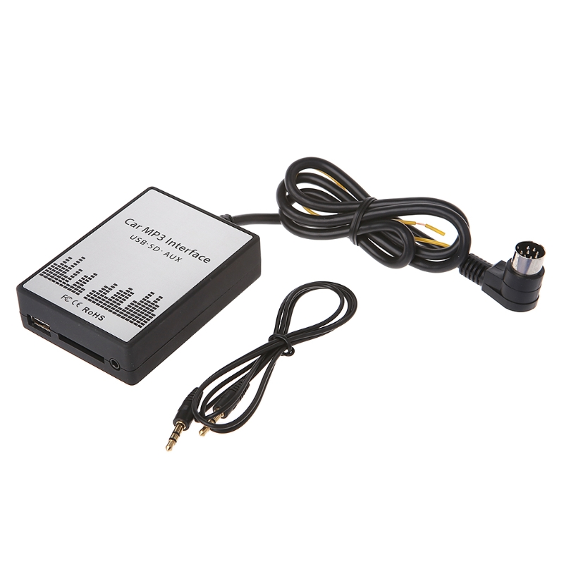 USB SD AUX Car MP3 Music Player <font><b>Adapter</b></font> for <font><b>Volvo</b></font> HU-series C70 S40/60/80 XC/C70 image