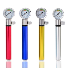 Road MTB Tire Bike Pumps Bicycle Pump With Pressure Gauge 210 PSI Portable Hand Cycling Bomba Presta and Schrader Ball Hot mini hand bicycle pumps beto with hose bike pump presta