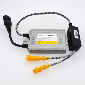 Image 3 - HIDLT 1 комплект AC 55W F5 DLT балласт Автомобильная фара HID комплект 5500K белый супер яркий H1 H3 H7 H11 9005 9006 9012 D2H Ксеноновые HID лампы