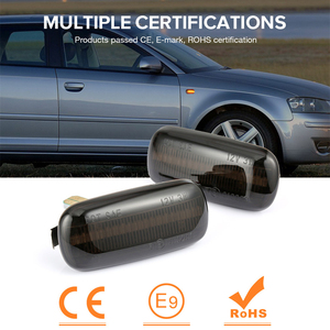 Image 3 - 2 pieces Led Dynamic Side Marker Turn Signal Light Sequential Blinker Light For Audi A3 S3 8P A4 S4 RS4 B6 B7 B8 A6 S6 RS6 C5 C7