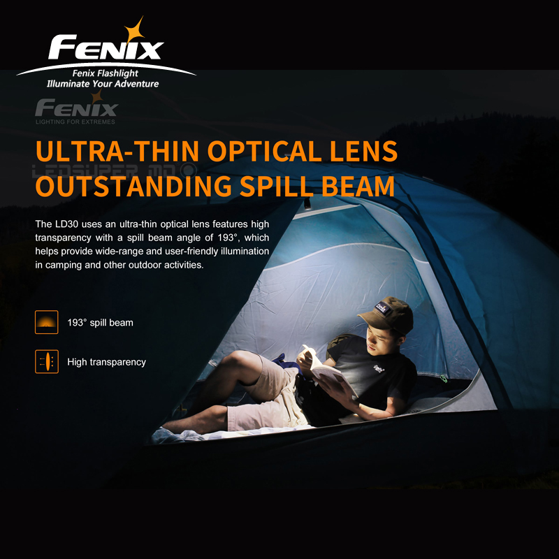 New Arrival 1600 Lumens Fenix LD30 Ultra compact Outdoor Flashlight with High Output - 3
