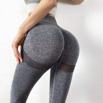 SVOKOR Fitness Leggings Women Push Up Gym Womens Clothing High Waist Short Leggings Sexy Workout Pants Female Ankle Knee Length