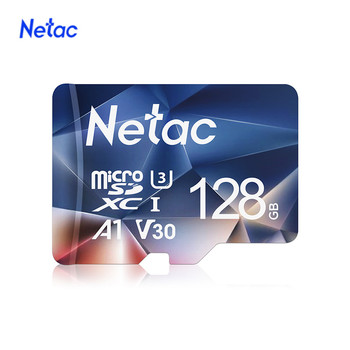 Netac sd card micro sd 128gb Class10 Flash Card Memory TF Card  64gb 128gb Max 100Mb/s memory card for samrtphone and table PC slm sound level meter support the pc connect and sd card freeshipping