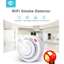 Smoke-Alarm Smokehouse-Combination Tuya Firefighters Fire-Protection Wifi Home-Security-System
