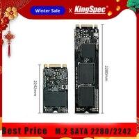Kingspec 2280 2242 SATA Signal M.2 SSD 128 ГБ 256 ГБ 512 ГБ ТБ M.2 SSD до USB3.0 HDD Box внутренний жесткий диск для ноутбука/настольного компьютера/ПК