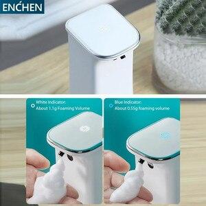 Image 2 - Автоматический индукционный дозатор мыла ENCHEN, бесконтактная пенообразовательная стиральная машина для умного дома и офиса