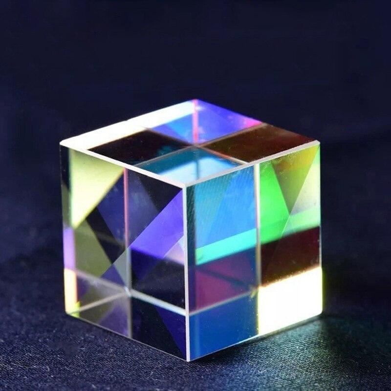 Купить кубическая призма бракованный крест дихроический зеркальный