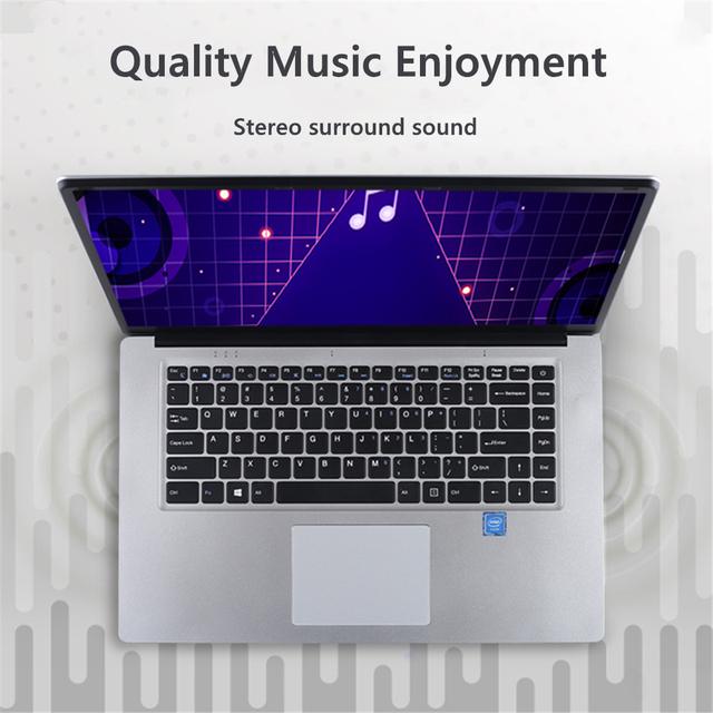 2020 NEW 15.6 inch Student Laptop intel J3455 Quad Core 8GB RAM 128GB 256GB 512GB SSD Notebook Ultrabook IPS 1920×1080 Netbook