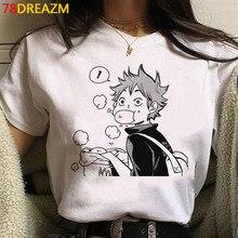 Nova oya oya oya haikyuu men t shirt kuroo japonês anime bokuto manga shoyo vôlei criativo tshirt dos desenhos animados camisetas gráficas masculino