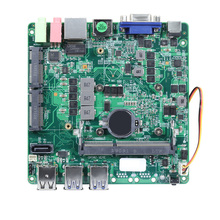 12x12CM Mini PC Motherboard Intel Core i5-4200Y DDR3L mSATA SATA 6 * USB VGA HDMI Mini PCIE wiFi Bluetooth Gigabit LAN DC12V 5A