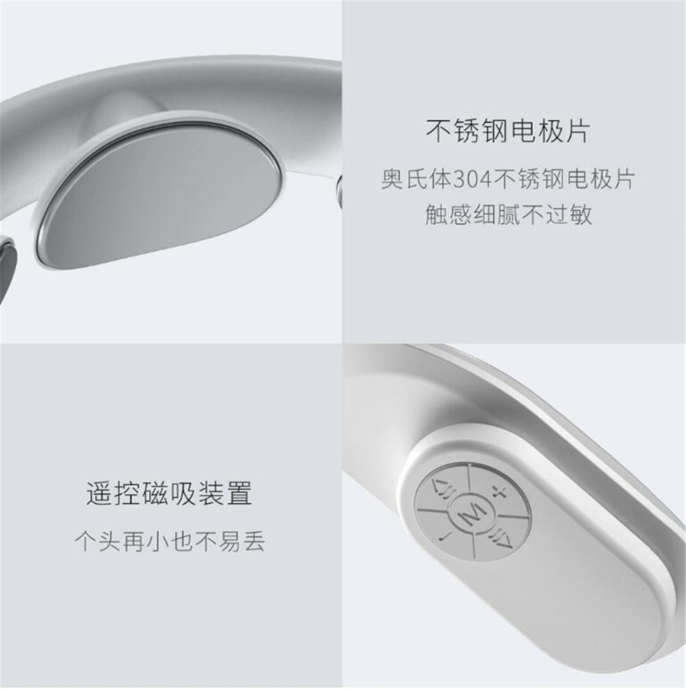 Xiaomi Jeeback Cervical Massager G2 TENS Pulse Back Neck Massager Far Infrared Heating Health Care Relax Work With Mijia App (7)