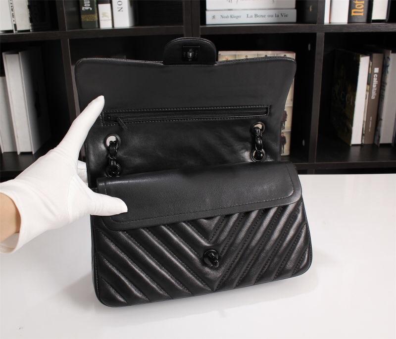 Женская сумка через плечо, портфель из натуральной кожи с узором «крокодиловая кожа», женская сумка мессенджер, женская сумка, черный/красн... - 2