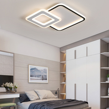 lustre led Black+White Art Modern Led chandeliers For Bedroom Balcony studyroom plafondlamp Minimalism Led chandelier lighting minimalism modern led ceiling chandeliers plafondlamp iron round led chandelier lighting for bedroom studyroom led light
