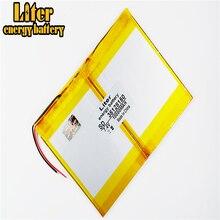 Polymer lithium ion pin 3.7 V 35128150 10000 mAh Với cắm Cho CH, Tablet PC Pin, chất lượng hoàn hảo của lar