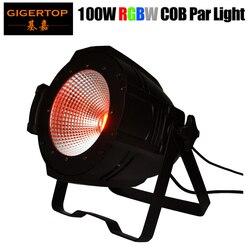 TIPTOP TP P55B amerykański COB Cannon umyć RGBA/RGBW COB LED lampa Par Barndoor profesjonalne oświetlenie sceniczne tło projektor cob led par stage lights backgroundled par light -