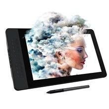 Gaomon pd1561 15.6 polegadas ips hd gráficos desenho tablet monitor 72% ntsc gama de cores com 8192 níveis caneta bateria-livre