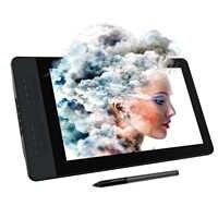 GAOMON PD1561 15.6 Pollici IPS HD Grafica Disegno Tablet Monitor 72% NTSC Gamma di Colori con 8192 livelli di Batteria-spedizione penna