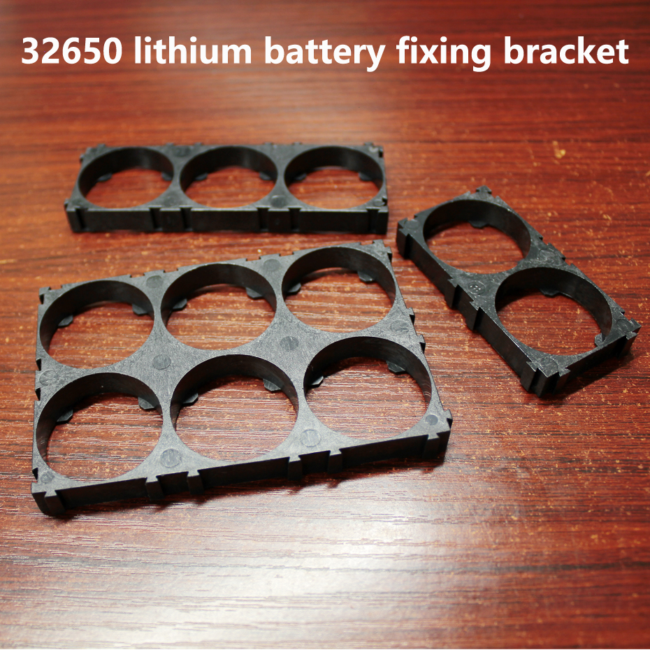 10pcs/lot 32650 32700 32900 Lithium Battery Universal Combination Bracket Fixed Base Buckle Connection Assembly Bracket