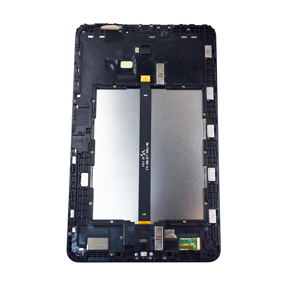 Para Samsung Galaxy Tab A 10,1 SM T580 T585, pantalla LCD, Panel digitalizador de pantalla táctil, repuesto con marco|Tablets LCD y paneles|   - AliExpress