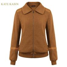 Kate Kasin 2019 Autumn Winter Fleece Jacket Coat W