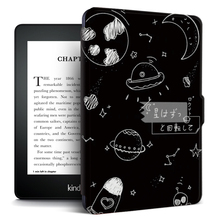 цена на For Kindle Paperwhite 4 Case Print Pattern Smart Folio Cover for Funda Kindle Paperwhite 10th Gen 2018 Auto Wake up/Sleep Shell