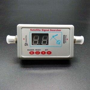 Image 1 - Antena telewizyjna cyfrowy miernik i lokalizator sygnału satelitarnego wyświetlacz LCD FTA DIRECTV wskaźnik sygnału narzędzie do wyszukiwania sygnału telewizyjnego