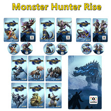 9pcs Monster Hunter Rise amiibo for Nintend switch Palamute Palico Magnamalo for switch