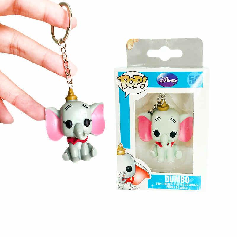 FUNKO POP Abu Coisas Estranhas SAILOR MOON Toy Story Dos Desenhos Animados Dumbo Pennywise Bolso Keychain Action Figure brinquedos para Presente de Crianças