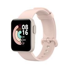Yeni saat kayışı için Mi izle Lite Watch Band şık SolidColor yedek aksesuarlar için Redmi izle bilezik kemer bilek kayışı