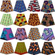 Ankara Africain printed dutch wax fabric sewing patchwork tissu cheap price polyester high quality dress garment craft accessory