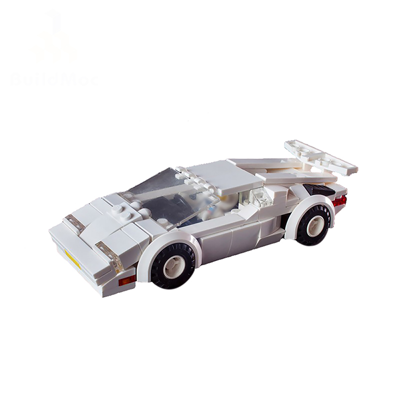 17083 Lam borghini Coutach Car kits Sets Compatible with <font><b>42083</b></font> building Blocks Technic Series Model LepinsBrick Kids Toys Gift image