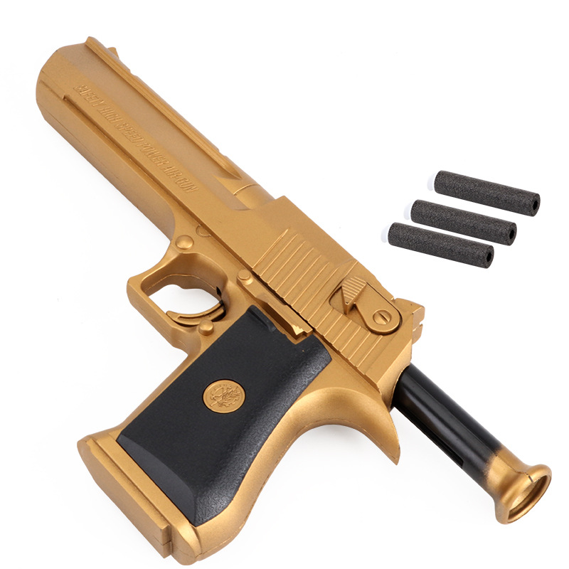 Desert Eagle Replica Guns Military Toy Soft Bullet Gun Military Model Children Props Soldier Toy Gun Wholesale