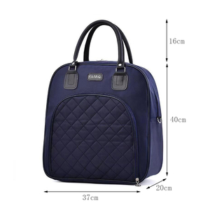 Image 2 - Large Capacity Women Travel Bag Travel duffle Bag Solid Color Fashion Multifunctional Hand Luggage Bags Waterproof Weekend Pack