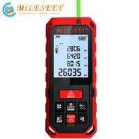 Mileseey S2 100M Green Laser Rangefinder Digital Laser Distance Meter Laser Tape Measure Diastimeter Tool