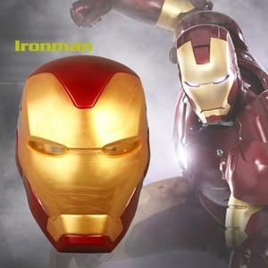 Iron Man Helmet Mask Led Light