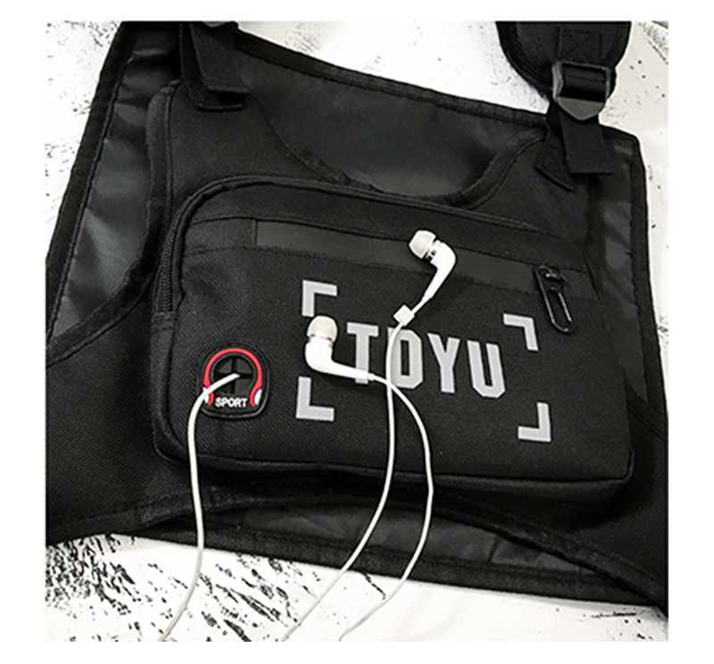 H2e337a0b20a94bbaa83fc58a7b0ad2ea7 - Fashion Chest Rig Bag For Men Waist Bag Hip hop streetwear functional Tactical Chest Mobile Phone Bags Male Fanny Pack Casual