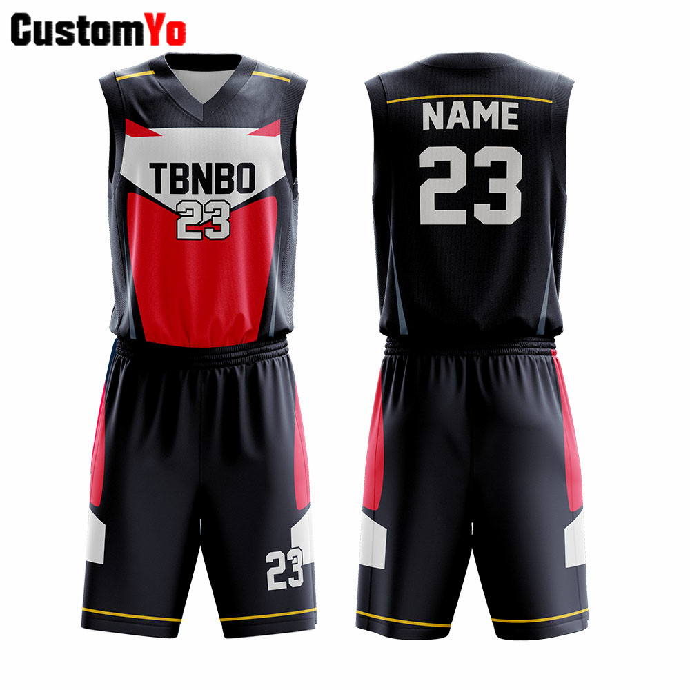 2020 Breathable <font><b>Men</b></font> Basketball <font><b>Shorts</b></font> Sets Blank Basketball Uniforms Training Jerseys <font><b>Suits</b></font> image