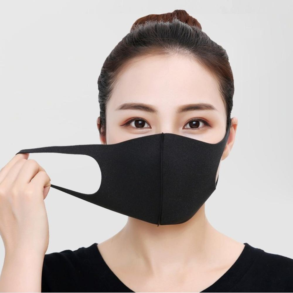 Unisex Mouth Masks Anti Dust Face Mouth Cover Reusable PM2.5 Mask Dustproof  Outdoor Travel Protection
