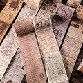 Билетные буквы растения винтажные васи ленты декоративные бумажные маскирующие ленты Diy Клей Скрапбукинг стикер школьные принадлежности