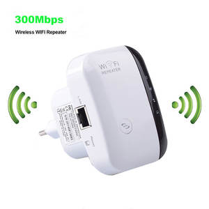 Wifi Repeater Signal-Amplifier Wi-Fi-Booster Wps-Access-Point Long-Range 300mbps New