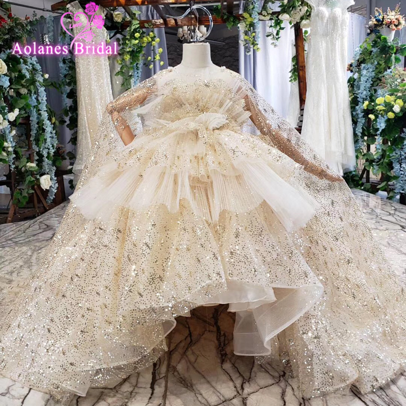New First Communion   Dresses   Scalloped With Bow Sash   Flower     Girl     Dresses   Ball Gowns Custom Made Vestidos Custom Made With Cape