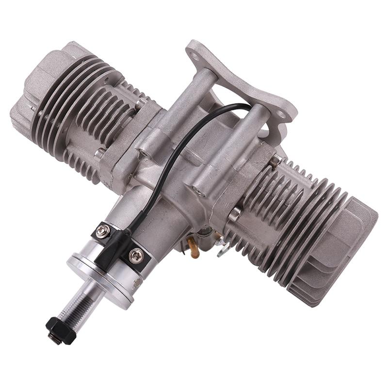 RCGF 30cc Twin Cylinder Petrol/Gasoline Engine Dual Cylinder with Muffler/Ignition/Spark plug for RC Model Airplane
