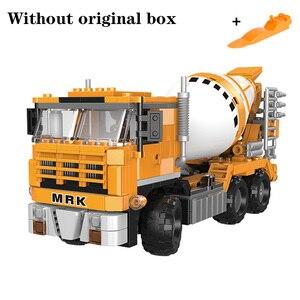 Image 5 - O offroad técnica xingbao novo 03038 construção escavadeira veículo conjunto blocos de construção tijolos brinquedos meninos figura presentes natal