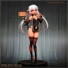 Hobby Japan Amakuni Dai Kasshoku Jidai Philena Waal PVC Action Figure Anime Sexy Girl Abbildung Modell Spielzeug Sammlung Puppe Geschenk