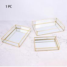Display-Organizer Decorative-Plate Storage-Tray Perfume Bathroom Kitchen Nordic-Style