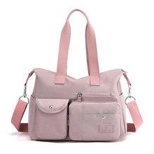 Sacs à main en tissu Nylon pour femmes, sacoches décontractées de grande capacité pour dames, sacs à bandoulière pour filles