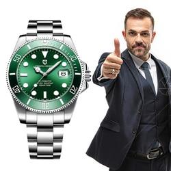 2019 PAGANI DESIGN NEW Mens Watch Brand Automatic Mechanical 100M Waterproof Sport Male Sapphire Wrist Watch Relogio Masculino