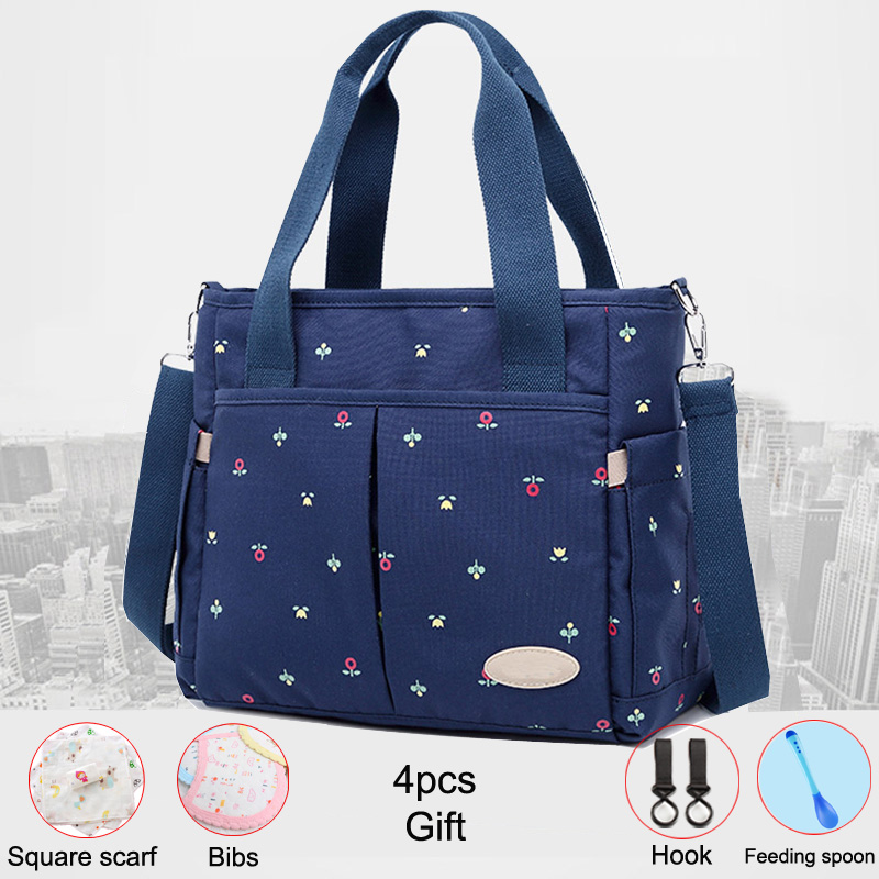 Baby Diapers Bag Outdoor Mommy Bag For Stroller Large Capacity Insulation Nursing Bag Polyester Diaper Bag Organizer