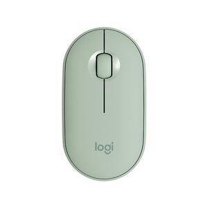 Image 3 - Logitech PEBBLE Bluetooth เงียบไร้สายบางและแบบพกพาโมเดิร์นเมาส์ 1000DPI 100G ความแม่นยำสูง OPTICAL